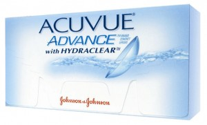 ACUVUE® ADVANCE® con Hydraclear®